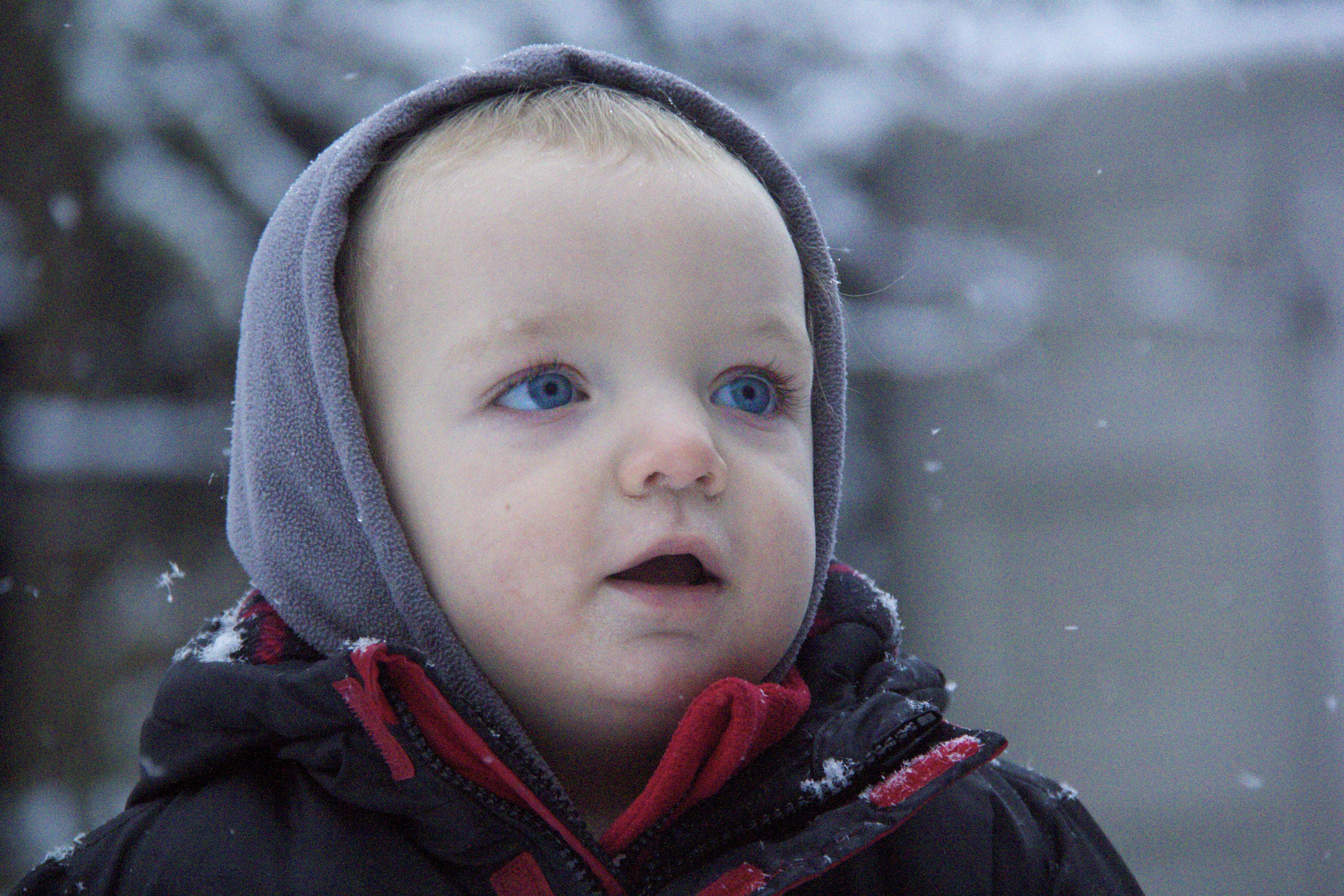 toddler snow